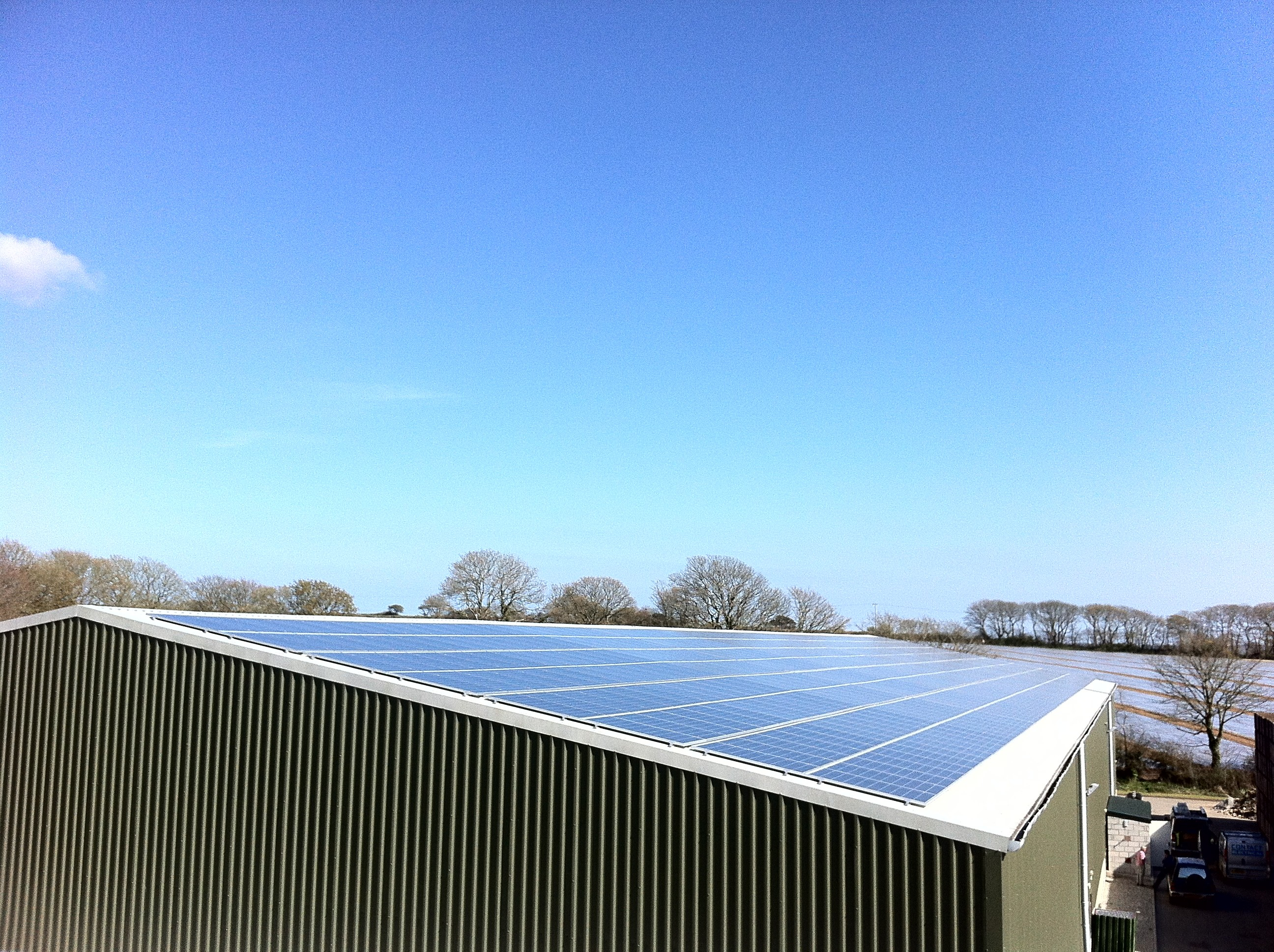corwall solar pv install from mypower