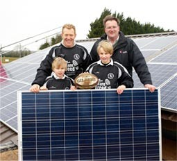 Mypower with Adam Henson at Stow Rugby Club